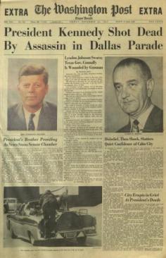 Washington Post 11-22-1963