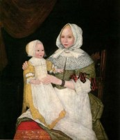 Mary Bliss Parsons and child