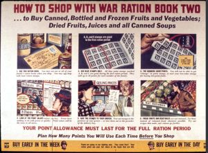 War Rationing Instructions