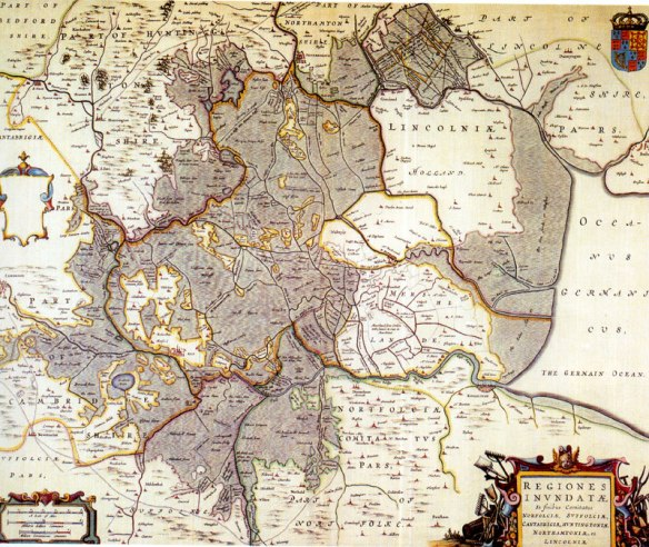 Norfolk England Map 1658