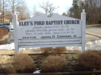 Eley's Ford Baptist Church